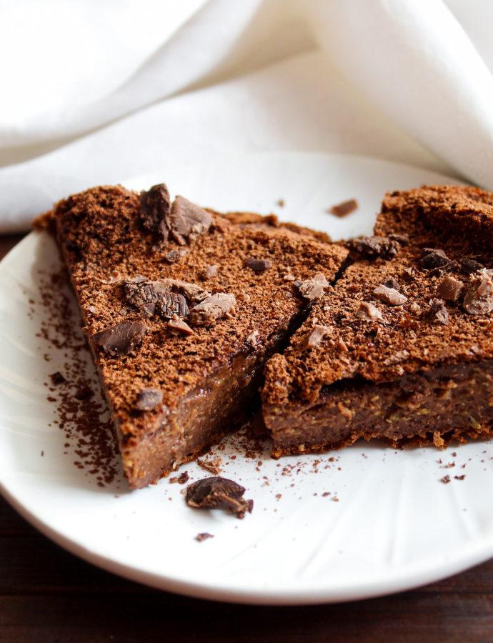 Zucchini Brownies Cake