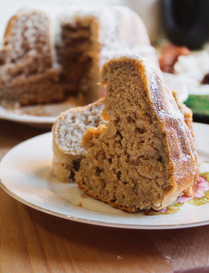 Bundt Cake Proteica