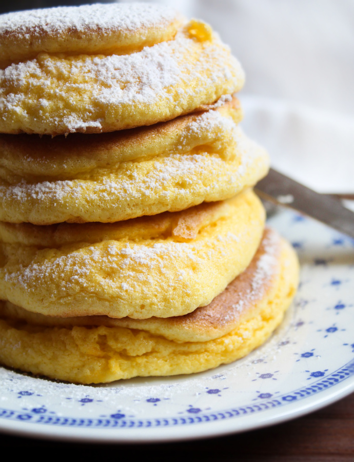 Fluffy Japanese Pancakes